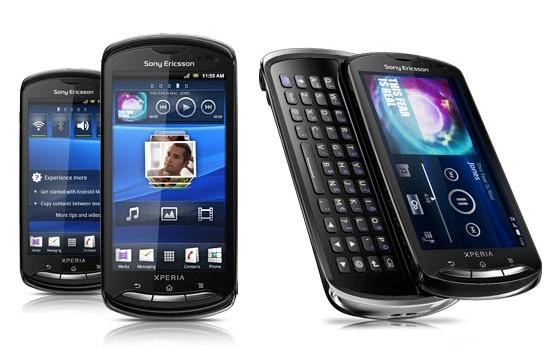 Sony Ericsson MK16 Xperia Pro Black Red