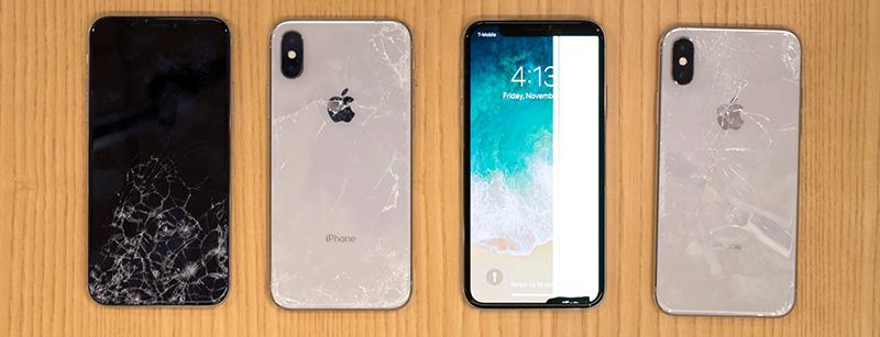 Thay Mặt Kính Sau iPhone X, 8, 8 Plus Chính Hãng Tại Hà Nội, Bắc Ninh