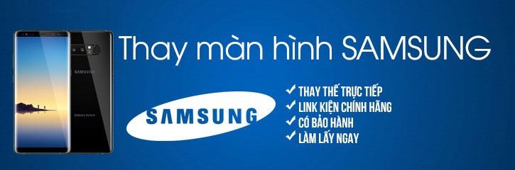Thay mặt kính màn hình Samsung galaxy note 8