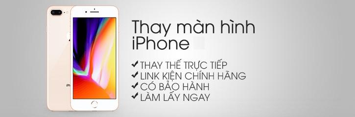 Thay man hinh iPhone 8 Plus tại Hà Nội