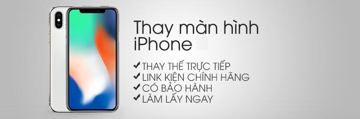Thay màn hình iPhone X tại Hà Nội