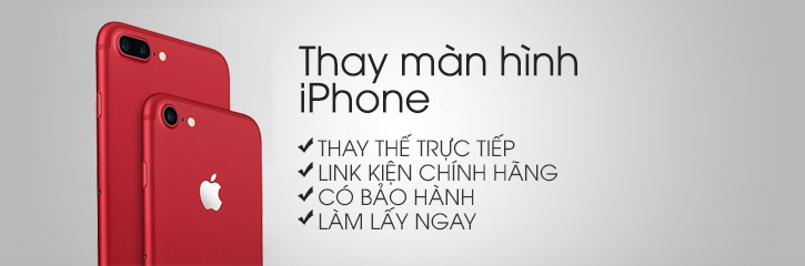 Thay mặt kính màn hình iPhone 7 Plus chính hãng tại Hà Nội. LH: 0964 308 308 / 0977 602 688