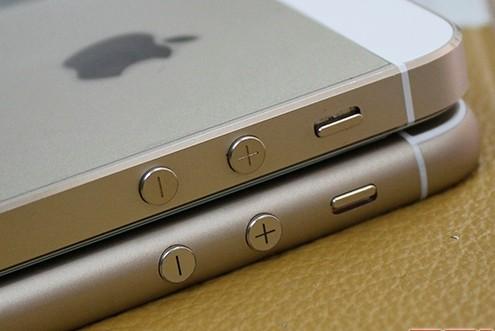 Thay vỏ iPhone 5,5S thành 6 - Độ vỏ iPhone_Độ dày của iPhone độ không khác mấy so với nguyên bản