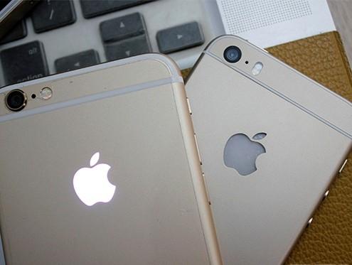 Thay vỏ iPhone 5,5S thành 6 - Độ vỏ iPhone_iPhone 6 và iPhone 5s độ