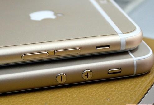 Thay vỏ iPhone 5,5S thành 6 - Độ vỏ iPhone_Thiết kế nút âm lượng của iPhone 6 mini vẫn giữ lại những đường nét quen thuộc trên iPhone 5S