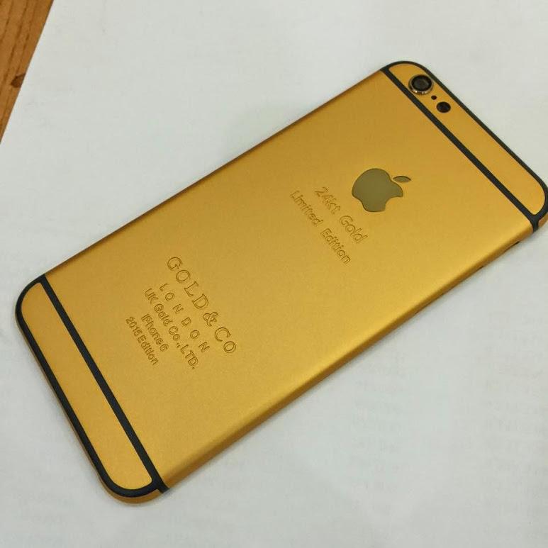 Vỏ iPhone 6 6s 6Plus mạ vàng 24K - Gold - suachua60s.com