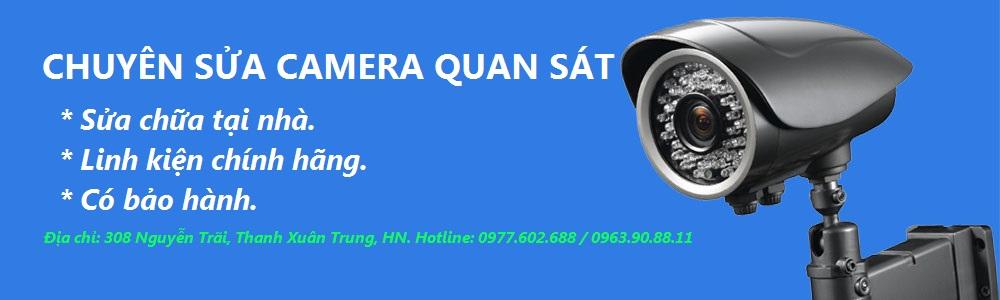 Dịch vụ sửa chữa camera quan sát (camera ip) uy tín tại nhà ở Hà Nội