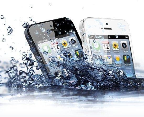 Kết quả hình ảnh cho sua dien thoai iphone rơi nước