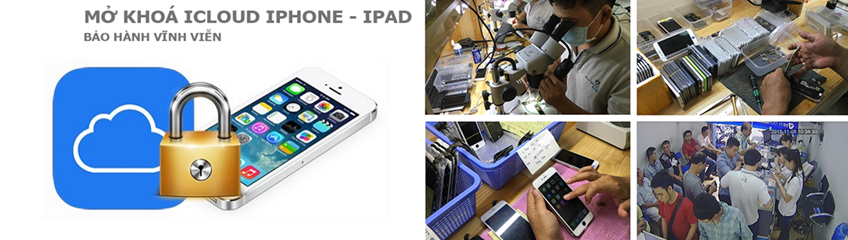 Địa điểm giải mã mở khóa bẻ khóa icloud iphone ipad uy tín tại hà nội
